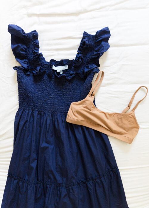 what bra to wear with nap dress