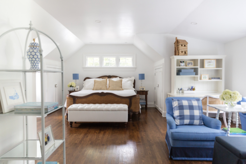 design darling parents' loft before and after